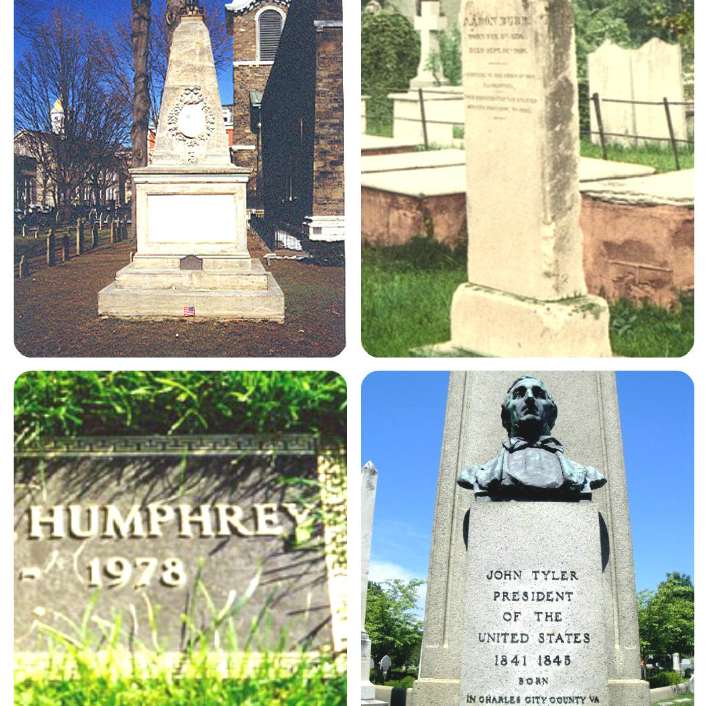 Vice Presidential Graves and Monuments, and Factiods