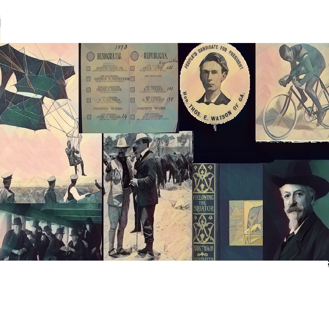 Learning to Fly: Part Three of the 1890's America Audio Scrapbook